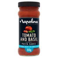Napolina no added sugar tomato & basil pasta sauce