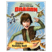 How to Train Your Dragon Sticker Activity Book