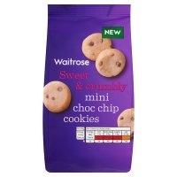 Waitrose mini choc chip cookies
