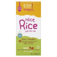 Ella's Organic nice rice from 7 months