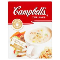 Campbell's chicken & vegetable cup soup