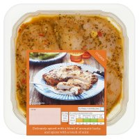 Waitrose British chicken breast in ras el hanout, lemon & apricot marinade
