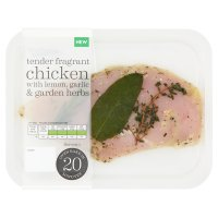Waitrose British chicken breast with lemon, garlic & herbs