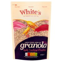 White's Apple, Cranberry & Raspberry Granola