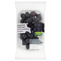 essential Waitrose Black Seedless Grapes