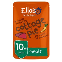 Ella's Kitchen Organic seriously comforting cottage pie with a pinch of cinnamon - stage 3 baby food