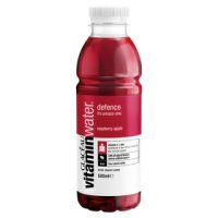 Glaceau Vitaminwater Defence plastic bottle