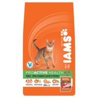 Iams dry lamb & chicken for adult cat