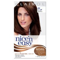 Clairol nice'n easy natural dark caramel brown 120b