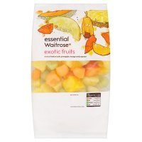 essential Waitrose frozen exotic fruits