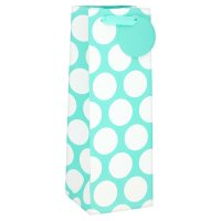 Waitrose Aqua Spot Bottle Bag