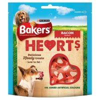 BAKERS® Mini Hearts Adult Dog Meat Treats Bag