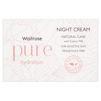 Waitrose Pure Night Cream