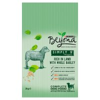 Beyond® Simply 9® Adult Dry Dog Food Rich in lamb with whole barley