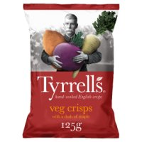 Tyrrell's Veg Crisps with a Dash of Maple