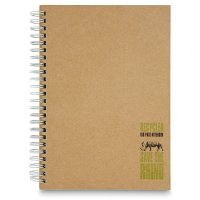 Rhino recycled notebook