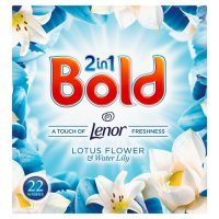 Bold 2in1 White Lily & Crystal Rain Washing Powder 22 washes