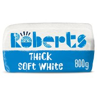 Roberts Bakery thick white sliced bread