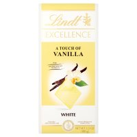 Lindt Excellence white chocolate with a touch of vanilla