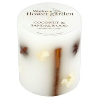 Flower Garden Coconut Candle