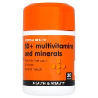 Everyday Health 50+ multivitamins & minerals