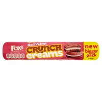 Fox's Red Velvet Crunch Creams
