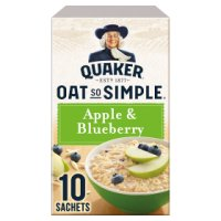 Quaker Oat So Simple apple & blueberry porridge 10S