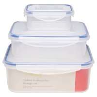 Waitrose 3 Piece Rectangular Storage Set