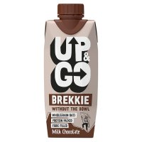 Up&Go chocolate flavour breakfast drink