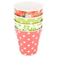 Waitrose Floral Soda Cups