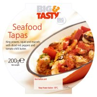 Big & Tasty Seafood Tapas