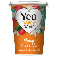 Yeo Valley organic mango & vanilla yogurt