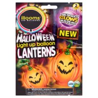 LIGHT UP BALLOONS PUMPKIN LANTERN 2