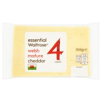 essential Waitrose Welsh Mature Cheddar Strength 4