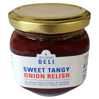 Providence Deli sweet tangy onion relish