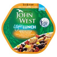 John West Light Lunch Mexican Style Tuna Salad