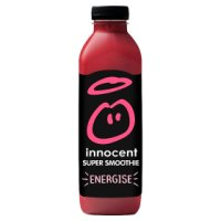 Innocent Energise strawberry, cherry & guarana super smoothie