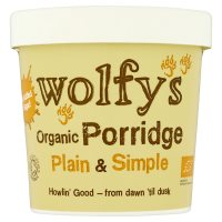 Wolfy's Porridge Plain & Simple