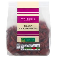 Waitrose LoveLife Dried Cranberries