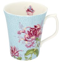 Duchy Originals from Waitrose vintage blossom duck egg mug