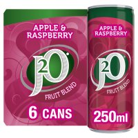 J2O fridge pack apple & raspberry