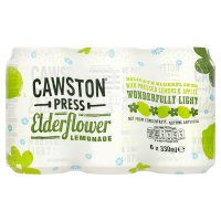 Cawston Press elderflower lemonade