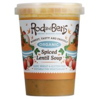 Rod and Ben's spiced lentil soup