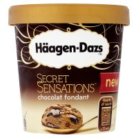 Häagen-Dazs secret sensations chocolat fondant