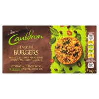 Cauldron 2 Vegan Burgers