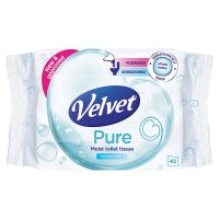 Velvet moist wipes refill
