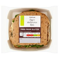 Waitrose LoveLife Egg & Watercress Roll