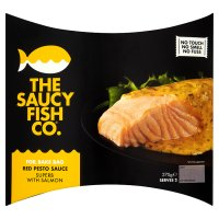 The Saucy Fish Co. salmon with red pesto