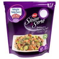 Heinz weight watchers steam & serve salmon