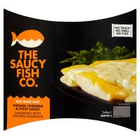 The Saucy Fish Co. smoked haddock with Davidstow cheddar & chive